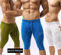 Brave Person 2015 Hot Sale New Genuine Sports Apparel Men Compression Runing Tights Fitness Yoga Men