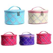 Waterproof Portable Entrancing Multifunction Travel Cosmetic Bag Makeup Toiletry Case Pouch