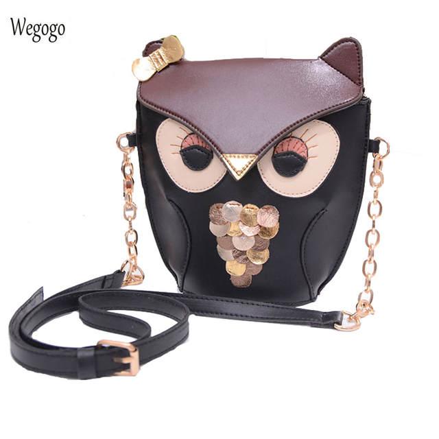 Us 10 07 28 Off Summer Women Messenger Bag Fashion S Owl Shoulder Woman Braccialini Small Cute Travel Beach Handbag In Bags