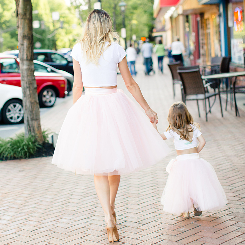 7 Layers Baby Girls tulle Tutu Skirts Children Ballet Fluffy Pettiskirt Baby Girl Wedding Bridesmaid Princess Party Dance Skirt fashion girls princess skirt solid color elastic waist bridesmaid wedding 4 layer underskirt girl tutu mesh skirts