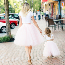 7 Layers Baby Girls tulle Tutu Skirts Children Ballet Fluffy Pettiskirt Baby Girl Wedding Bridesmaid Princess Party Dance Skirt недорого