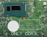 w mainboard האם מחשב עבור Dell Vostro 3446 TFM8R 0TFM8R CN-0TFM8R 13,302-1 PWB: MRF1C REV: A00 w 2957U Mainboard האם מחשב נייד מעבד נבדק (3)