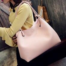 LEFUR Fashion Luxury Handbags Women Bags Designer Pu Leather 2 Pcs/Set High Capacity Bags for Women 2018 bolsa feminina