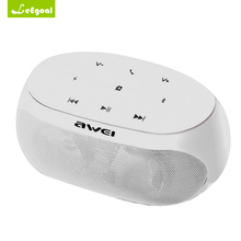 Portable Mini Stereo Wireless Speakers Awei Bluetooth Speaker Support V3.0 Bluetooth TF Card AUX Microphone Sound Box Speaker
