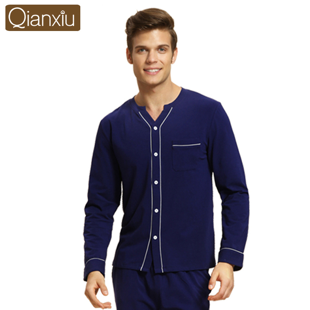 Qianxiu Brand Latest fashion style nightgown sexy V-neck comfortable design