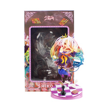 16cm Anime Shiro NO GAME NO LIFE GAME LIFE White 3 Generation Poker 1/8 Scale PVC Action Figure Collectible Figurines Toy