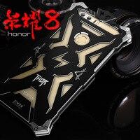 Original Simon Case For Huawei Honor 8 THOR IRONMAN Shockproof Metal Frame Anti Knock Bumper For