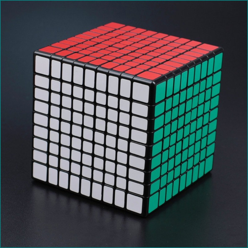 9x9x9 CUBE 9X9 Puzzle Cube Professionnel PVC et Mat Autocollants Cubo Magico Speed Puzzle classique Jouets Apprentissage et L'éducation Jouet - 5