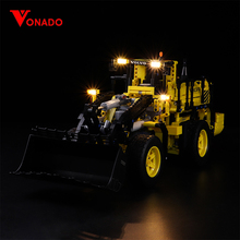 LED Light for lego 42030 Compatible 20006 technic Volvo L350F wheel loader Building Blocks Bricks (only lights with Battery box)