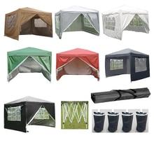 цена на Panana Waterproof 2x2m / 2.5x2.5m Pop Up Gazebo Marquee Garden Awning Party Country Fair Tent Canopy Arbor Anti-UV
