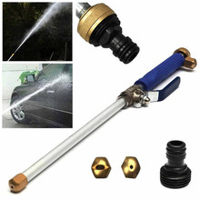 Alloy Wash Tube Hose Car High Pressure Power Water Jet Washer 2 Spray Tips Auto Maintenance Cleaner Watering Lawn Garden Tools(China)