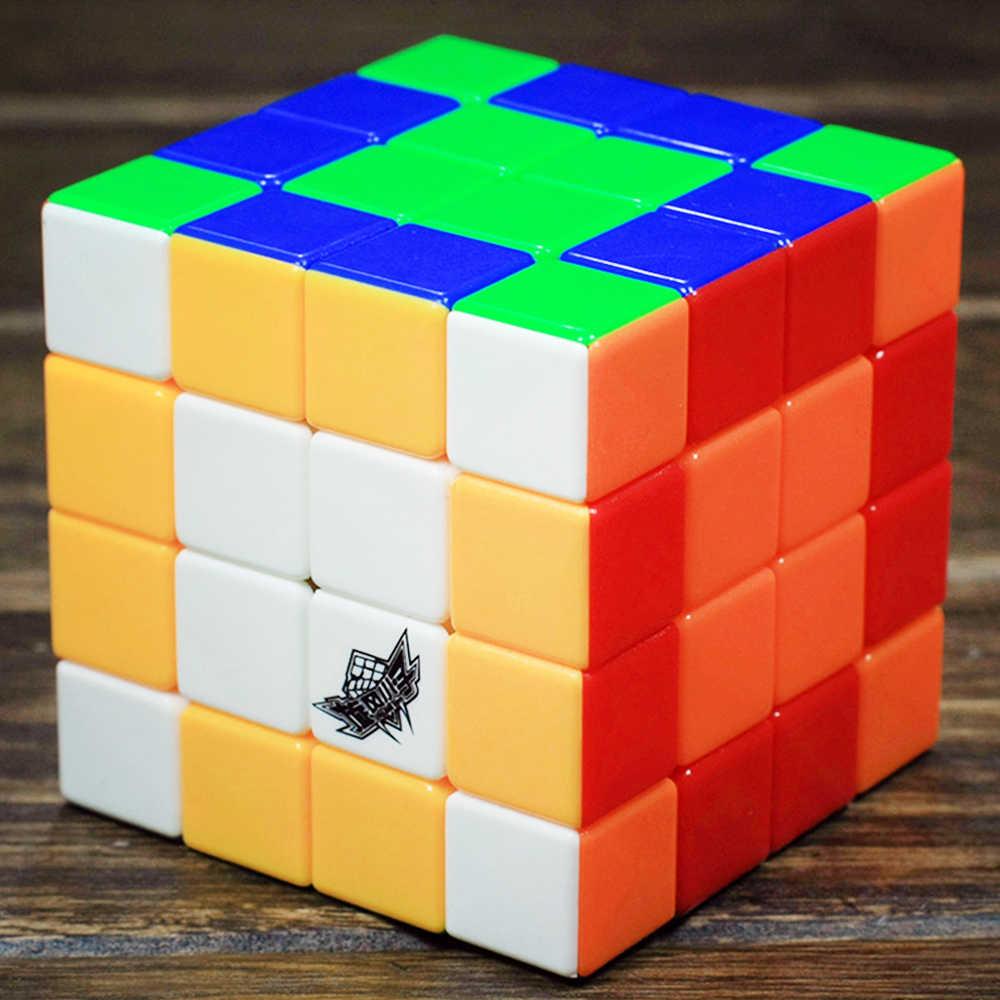 4*4 G4 Cyclone Boys 4 четыре слоя Cubo Megico Профессиональный головоломка, волшебный куб, 4x4x4 цветной игрушка для детей