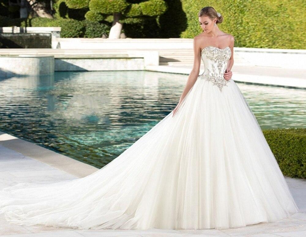 Groß Prinzessin Hochzeitskleider 2014 Bilder - Brautkleider Ideen ...