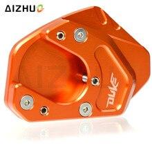 For KTM DUKE 125 200 390 690DUKE Motorcycle Foot Kickstand Extension SideStand Enlargement Plate