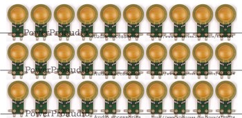 30pcs 25.4mm Hiqh Quality diaphragm 8ohm for Foster N30,025N08, 025H278 8 Ohm