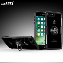 For iPhone 6 6s Plus Case For iPhone 7 8 Cover Luxury Transp