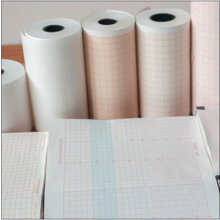 Ekg Papier 280mm * 30 mt diagramm aufnahme medical thermopapier in ...