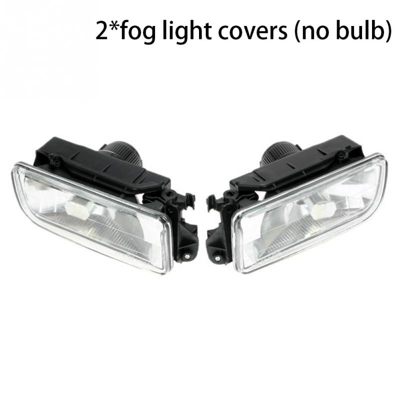 2pcs Car Bumper Fog Lights Clear Lens Housing Case For BMW E36 92-98