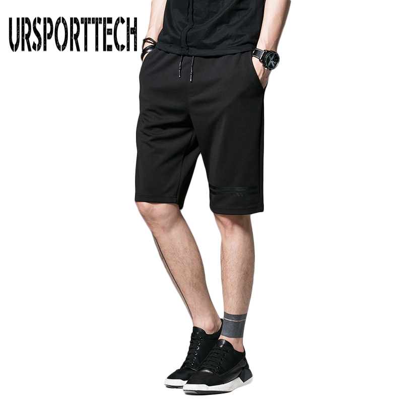 URSPORTTECH Brand Mens Casual Shorts Summer Cotton Men Cargo Short Knee Length Plus Size M-5XL Men Cargo Shorts