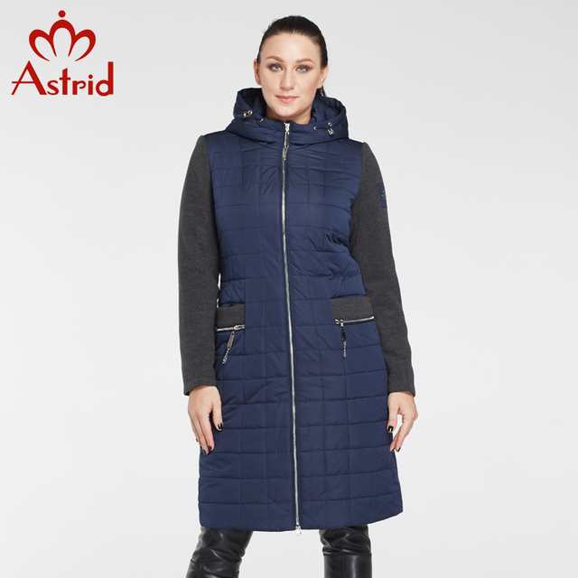 2017 Astrid Fashion Winter Coat Female Plus Size Women's Down Jacket Long Coats Woman Jacket Warm Winter Coat Big Size AM-8028
