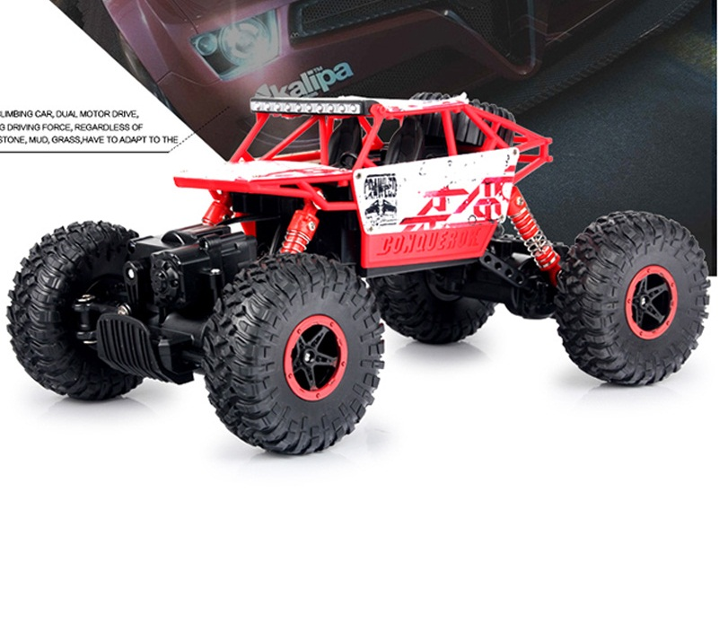 Rastreadores de Rock RC 4WD Coche 2.4 GHz de escalada de Coches de Rally 4x4 Mot