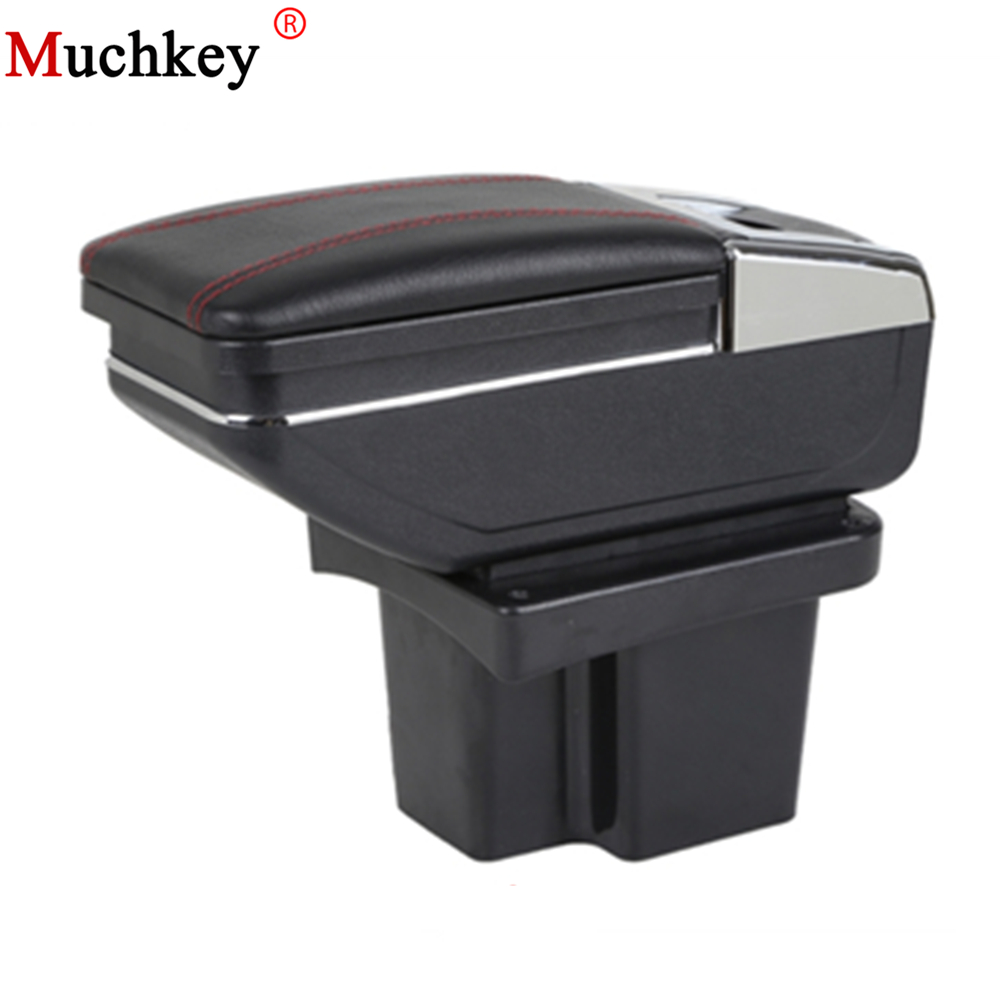 Armrest Box Car Center Storage Box With Cup Holder Ashtray Stowing Tidying Arm Rest Rotatable For KIA Cerato Forte k3 2009-2016 коврик для приборной панели авто 11 kia forte cerato k3 bngy 12