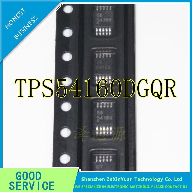 10PCS/LOT TPS54160DGQR TPS54160DGQ TPS54160D TPS54160 54160 MSOP10