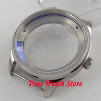 43mm Parnis 316L stainless steel watch case fit for ST 2505 2530 Automatic movement C127