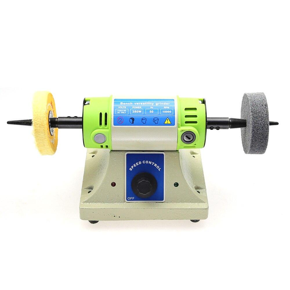 Bank Vielseitigkeit Mühle BG-3109 Multifunktionale Bank Schleifen Maschine Jade Wurzel Holz Carving Grinder mit Flexible Rohr
