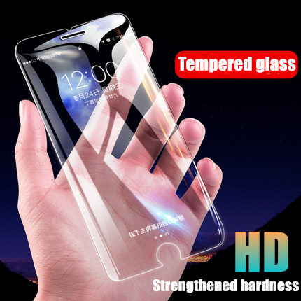 LOLEDE 9H Premium Tempered Glass Screen Protector for iPhone 6 6S 7 Plus 4 4S 5 5S SE Toughened Protective Film Guard Shield in Phone Screen Protectors from Cellphones Telecommunications