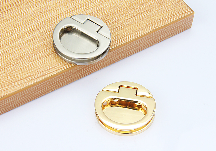 4Pcs/Lot Premintehdw Zinc Flap Knob Furniture Cupboard Drawer Cabinet handle
