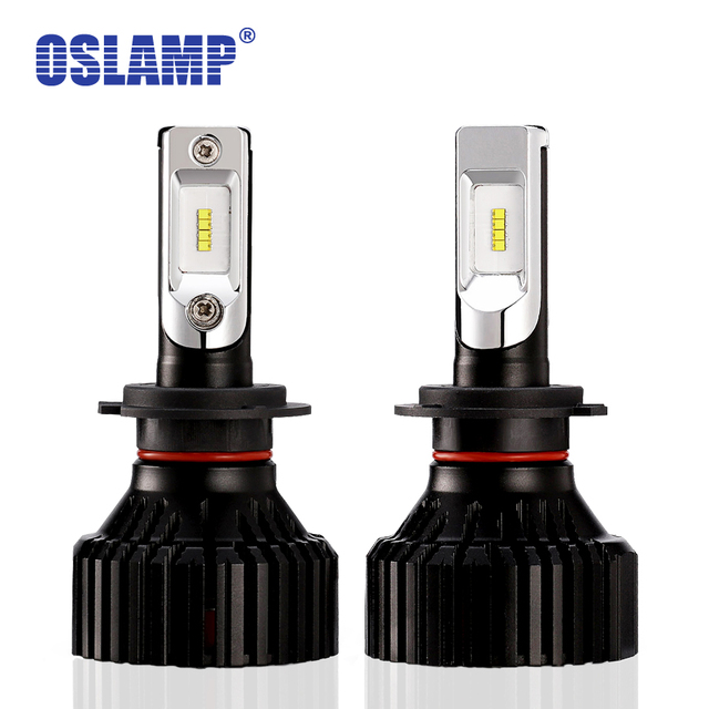 Oslamp Chip 60 w 8000LM H7 LED Koplampen voor Auto Auto Led H4 Auto Koplampen 9005 HB3 9006 HB4 led H11 Lamp T8 6500 k