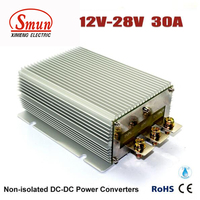 High Current 30A DC DC Converter 12 Volt To 28 Volt Power Supply