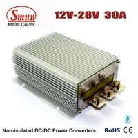 High Current 30A DC DC Converter 12 Volt to 28 Volt Power Supply