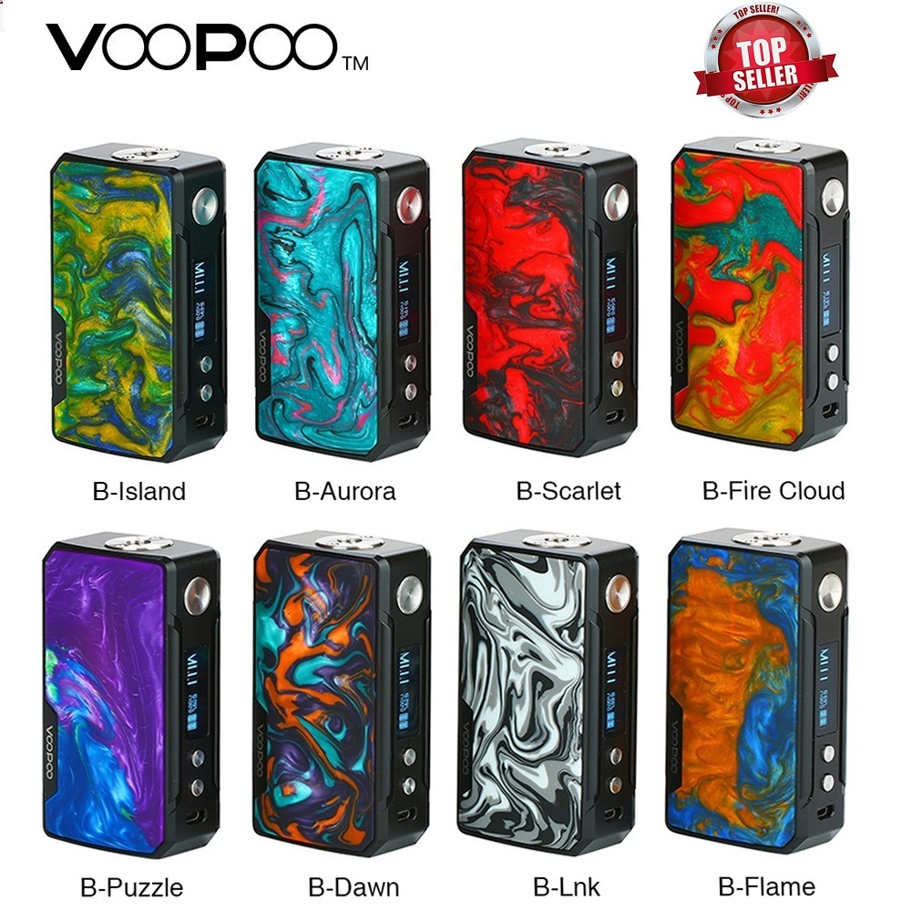 Auf Lager! 177 W VOOPOO DRAG 2 Box Mod Power Durch 18650 Batterie Elektronische Zigarette Vape Mod Voopoo Mod Vs Luxe Mod /Shogun Univ