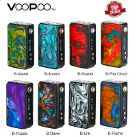 In Stock! 177W VOOPOO DRAG 2 Box Mod Power By 18650 Battery Electronic Cigarette Vape Mod Voopoo Mod Vs Luxe Mod / Shogun Univ