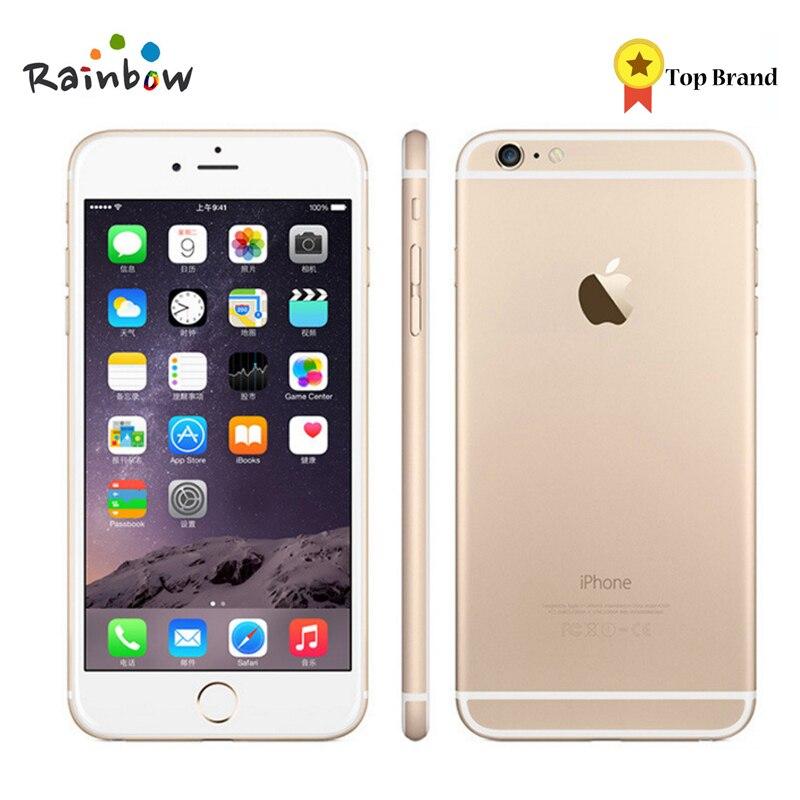 Оригинальный Apple iPhone 6 завод разблокирована IOS смартфонов 4,7 дюймов Touch скрин двухъядерный LTE Wi Fi Bluetooth 8.0MP камера