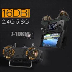 Image 5 - 16DBI 2.4/5.8GHz Circulair Gepolariseerde Antenne WiFi Signaal Bereik Booster Extender voor DJI Mavic pro Spark Phantom 4/3 inspire 2/1
