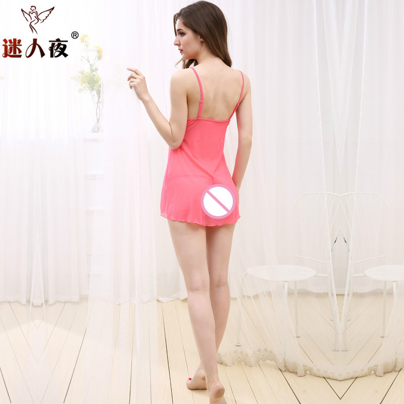 Lace mini dress backless