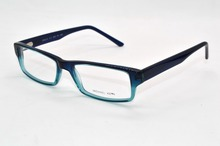 Acetate Frames spring temple Fashion blue men women Custom Made Prescription nearsightedness glasses Photochromic -1 to -9