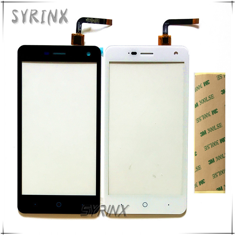 "Syrinx With 3M Tape Versions 1.0 / 1.1 For ZTE Blade L3 5.0"" Front Glass Touch Screen Digitizer Panel Sensor Lens Replacement(China)"