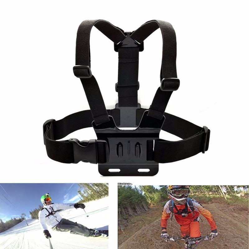 Image 5 - HOMEREALLY Gopro Accessory Monopod Head Chest Kit For Sony HDR AS20 AS30V AS100V Xiaoyi Gopro Hero 3/3+/4 Session SJ4000 M10 M20-in Tripods from Consumer Electronics