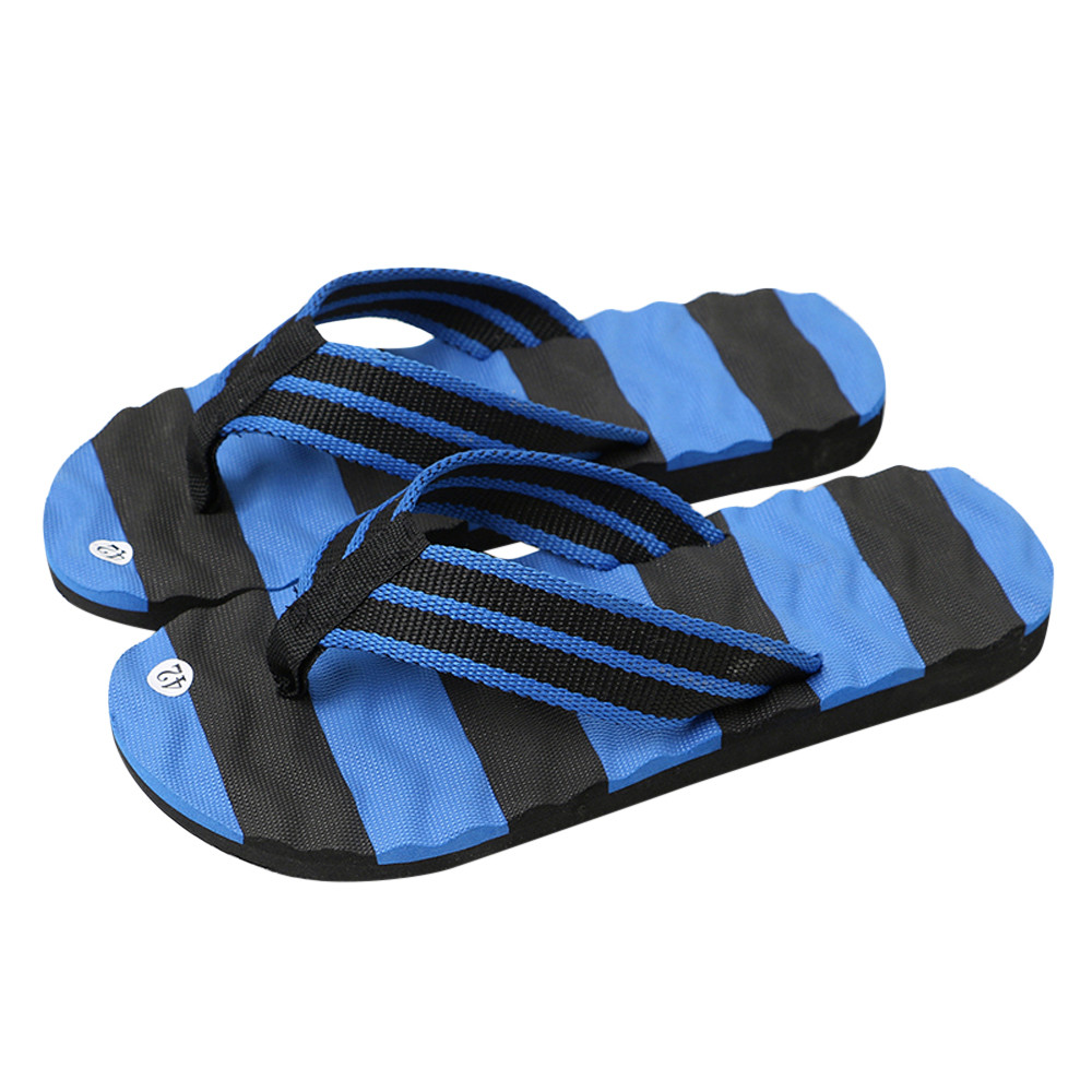 2018 Men's Summer Flip-flops Slippers Beach Sandals Indoor&Outdoor Casual ShoesComfortable Summer Soft Slippers high quality man flip flops slippers beach sandals summer indoor