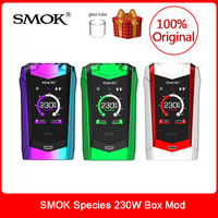 Original SMOK Species Mod 230W Touch Screen Mod VW/TC Box Mod 18650 Battery For Electronic cigarette vape species kit