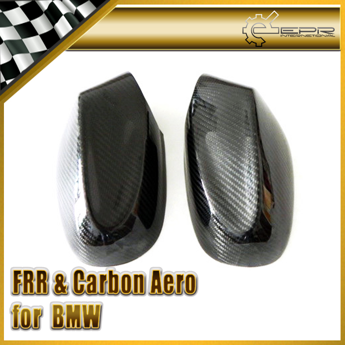 Car Styling For BMW 2008+ E87 1-Series Carbon Fiber Side Mirror Cover In Stock f10 side wing rearview mirror cover caps for bmw sedan 11 13 carbon fiber