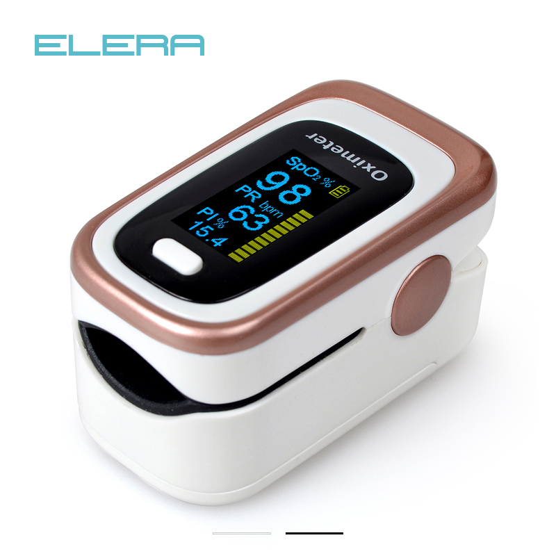 ELERA Pulse-Oximeter Sleep-Monitoring Finger Oximetro-De-Dedo SPO2 4-Parameter PR ODI4