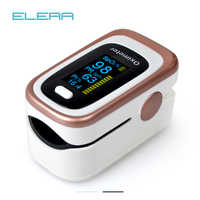 Oxímetro De pulso ELERA 4 parámetros SPO2 PR PI ODI4 oxímetro De Dedo 8 horas control del sueño Pulsioximetro