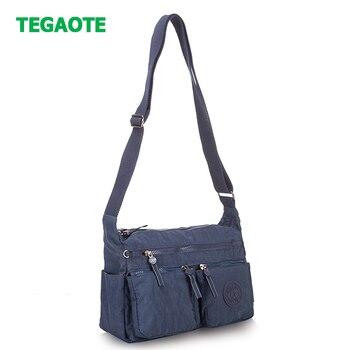 4d11fa7234b3 TEGAOTE сумка Повседневное мульти карман на молнии Для женщин маленькая  Crossbody сумка женская сумка для мобильного телефона