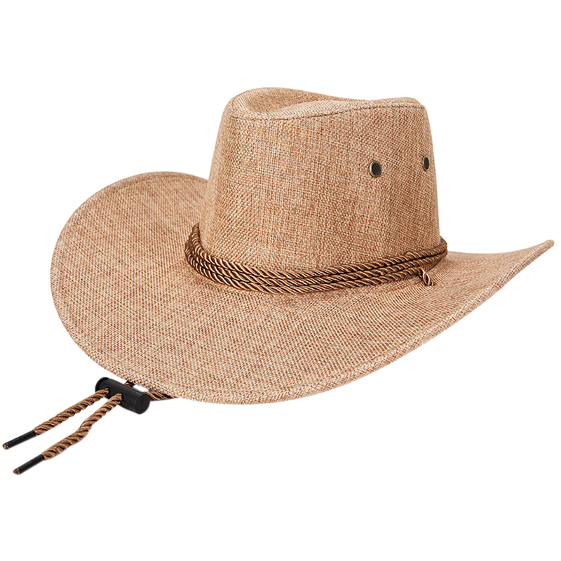 5febe0549 New Unisex Fashion Western Men Women Cowboy Hat Solid Tourist Cap Outdoor  Wide Brim Jazz Caps Gorras