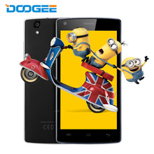 Doogee X5 Max Pro Android 6.0 Mobile Phones 5.0Inch HD 2G+16G MTK6737 Quad Core 5.0MP Mobile Phone 4000mAH Fingerprint Cellphone